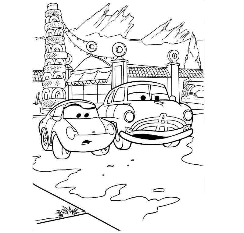 doc hudson coloring pages - doc hudson coloring pictures for boys coloring pages