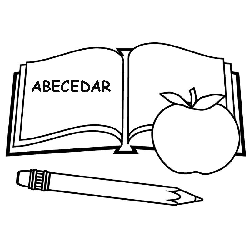 Cartea, creionul si marul
