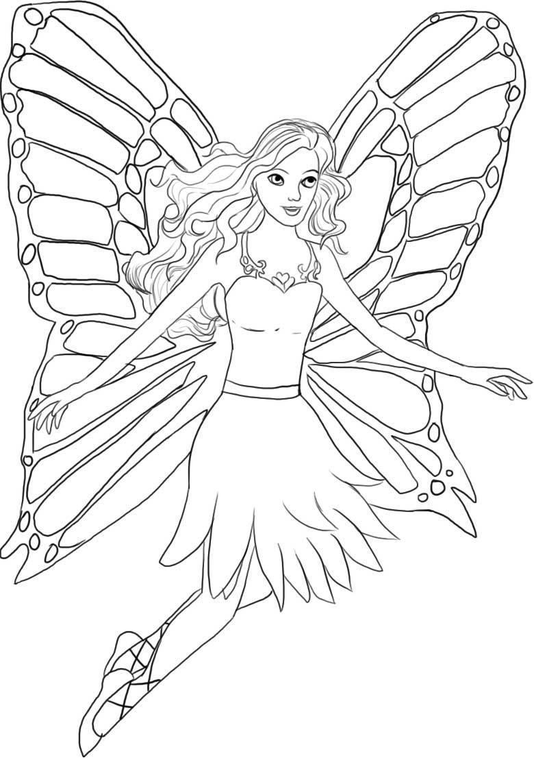 Un Fluture  E Barbie