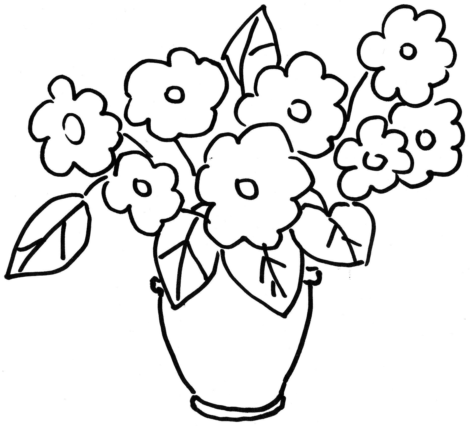Vaza Frumoasa Cu Flori