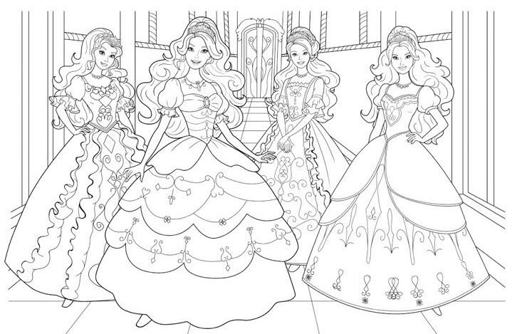 Barbie Si Prietenele Ei Printese