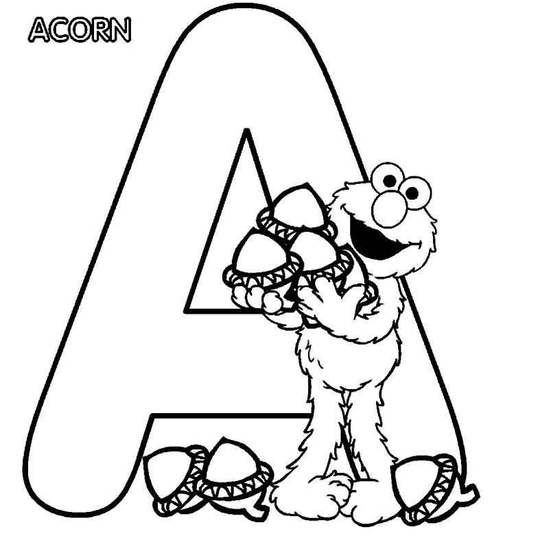 Elmo si litera A