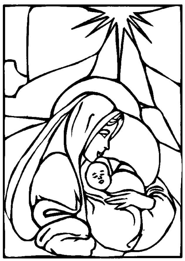 Fecioara Maria si pruncul Iisus