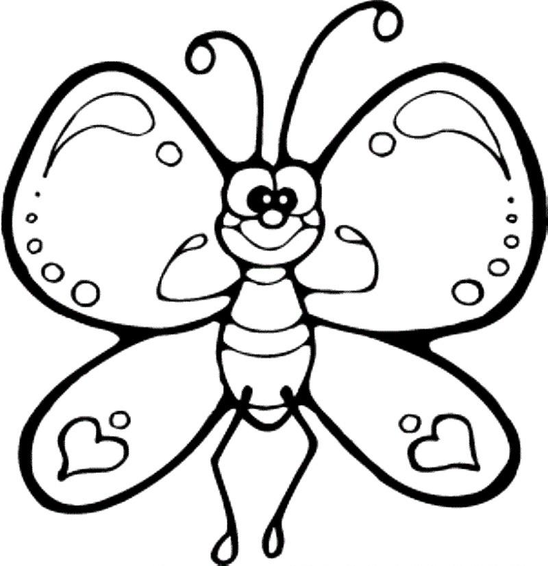 Fluture De Colorat