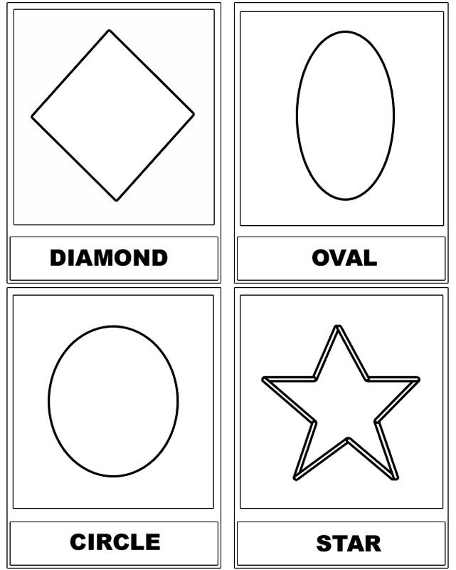 Forme Geometrice De Colorat