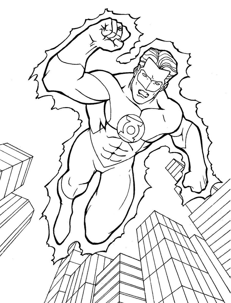 Supereroul Green Lantern