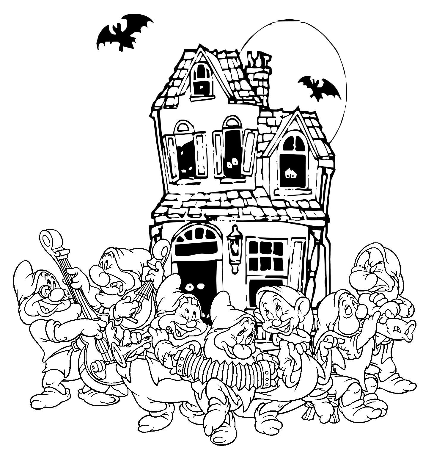 Halloween cu cei sapte pitici