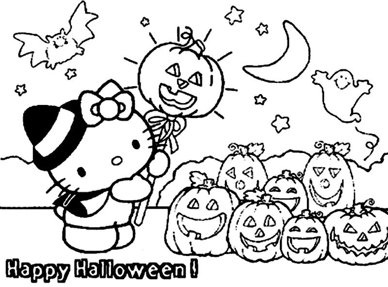 Halloween Cu Hello Kitty