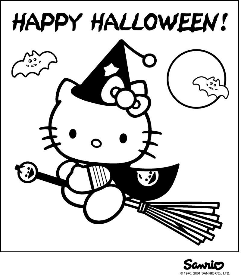 Hello Kitty De Halloween