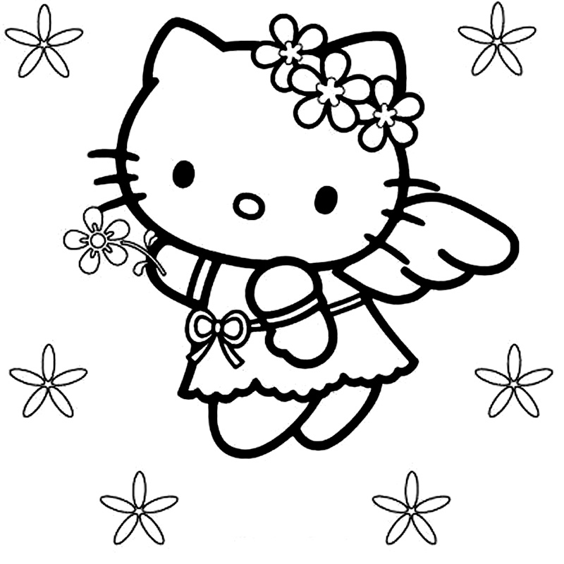 Hello Kitty Este Ingeras