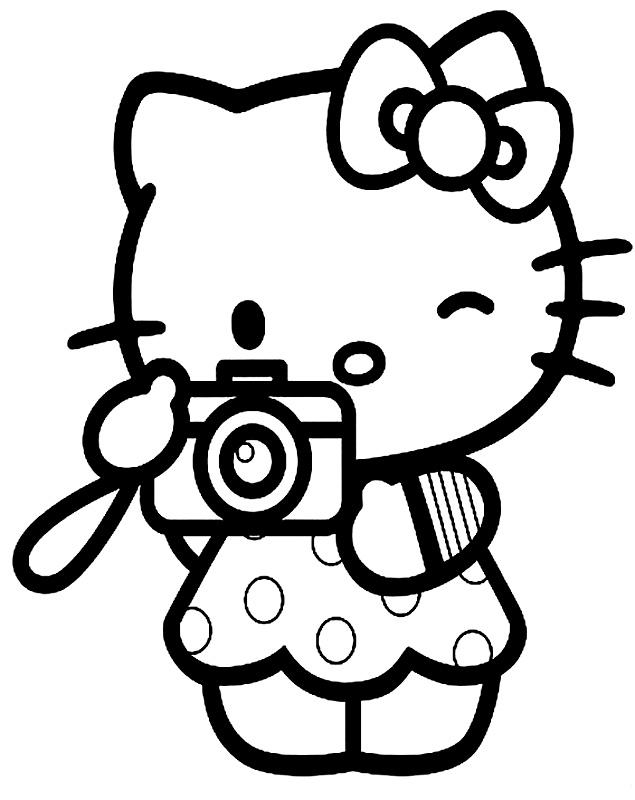 Hello Kitty te fotografiaza