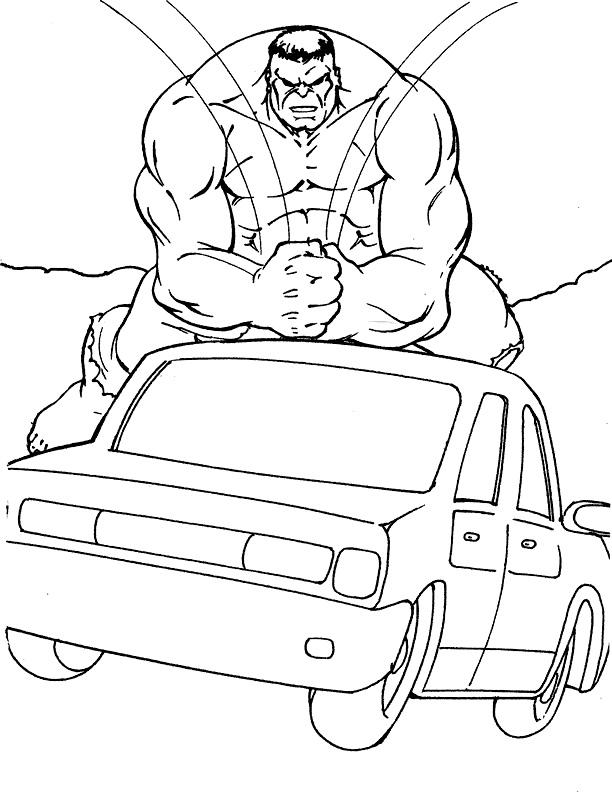 Hulk pe masina