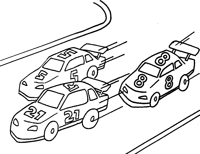 Cars 2 Miguel Camino Coloring Pages