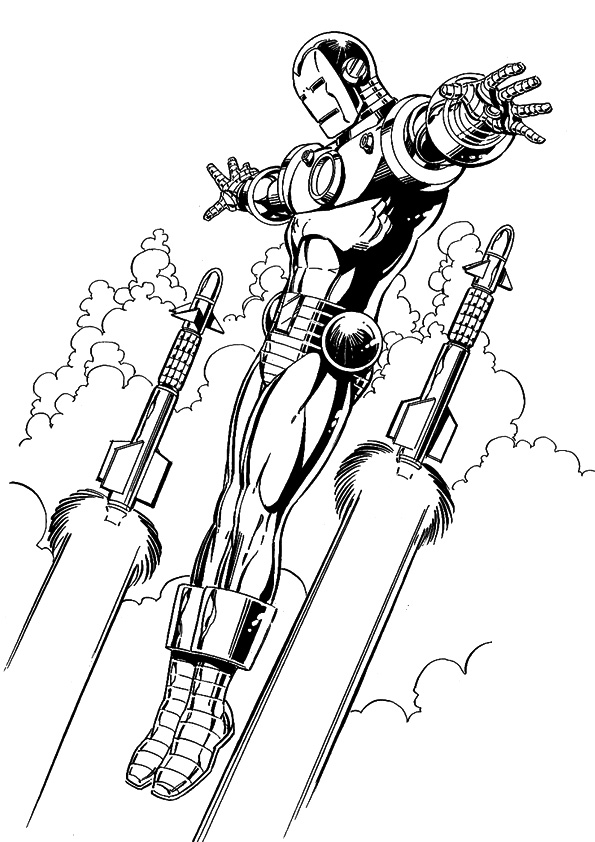 Iron Man Urmarit De Rachete