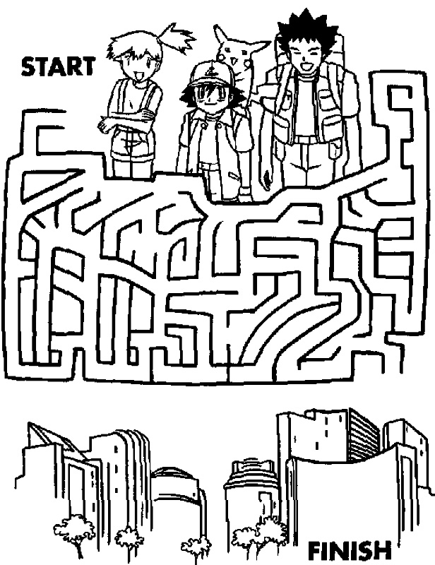 Labirint cu Pokemon