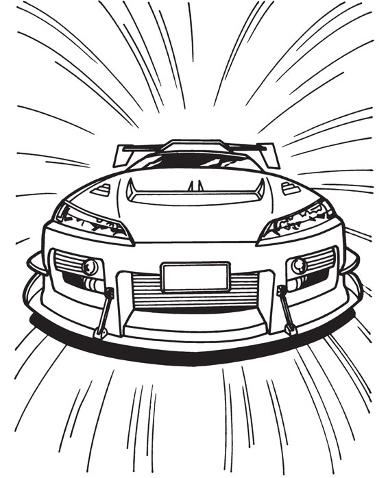 masini curse coloring pages - photo#7
