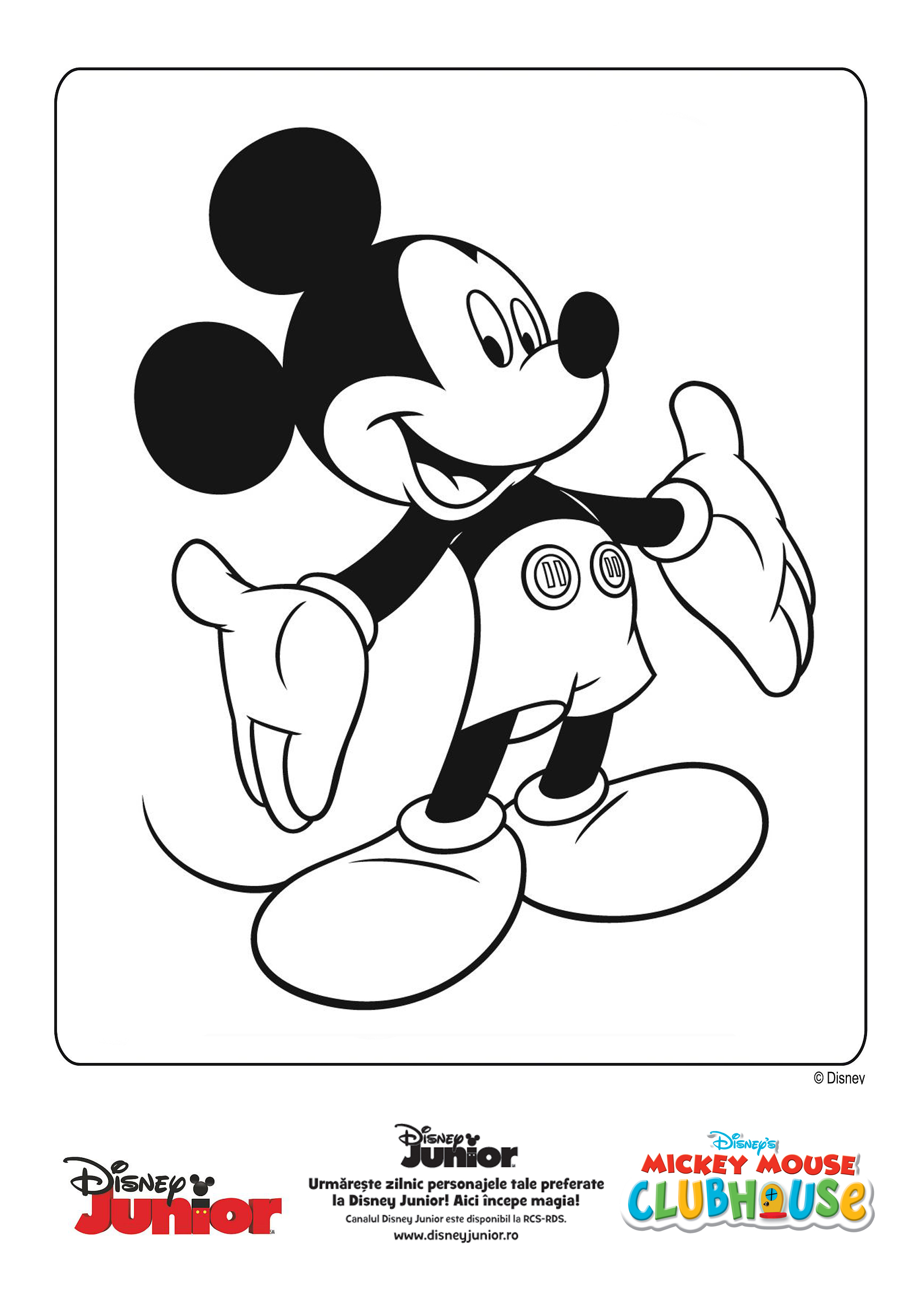 Mickey Mouse Te Saluta