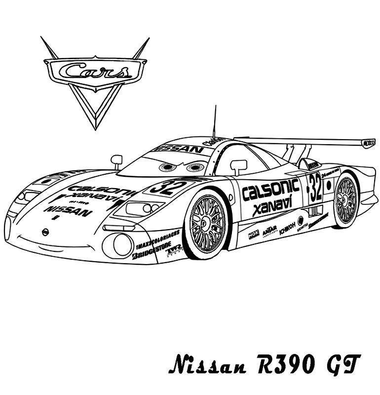 Masina Nissan din Cars 2