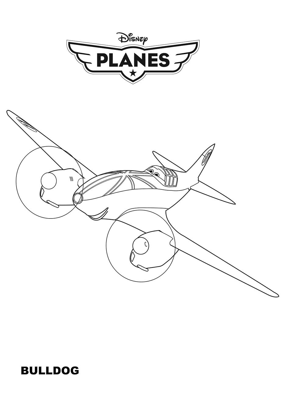Avionul Bulldog din Planes