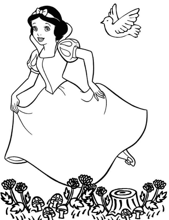 Printesa Disney Alba Ca Zapada