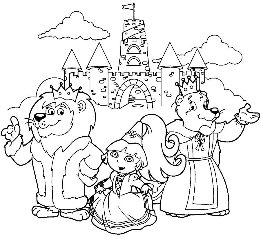 Printesa Dora si regatul animalelor