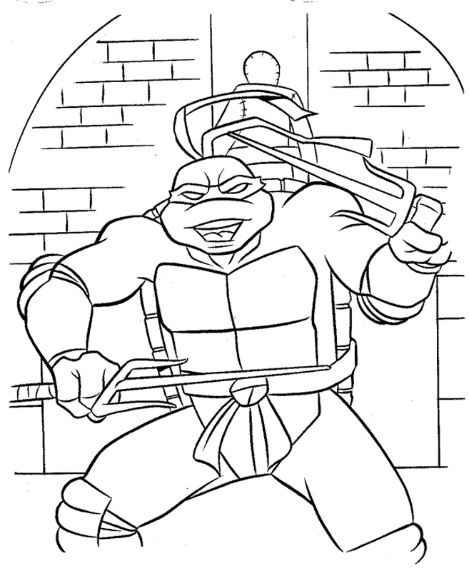 Raphael si ale sale arme twin sai