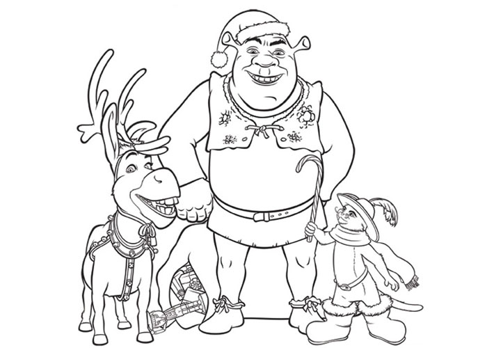 Craciun cu Shrek, Motanul Incaltat si Magarus