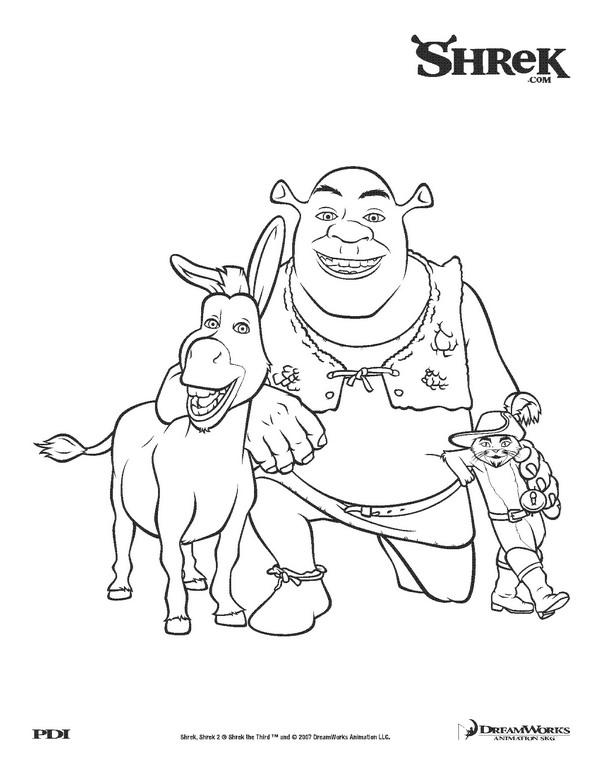 Shrek si prietenii lui