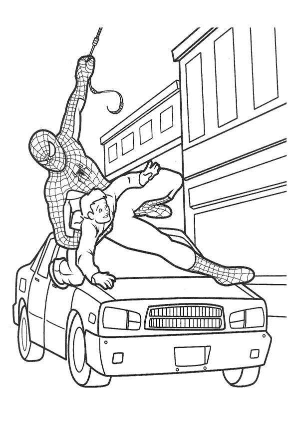 Spider-Man salvatorul