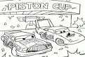 Cars la Piston Cup de colorat