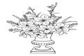 Vaza cu flori minunate