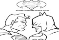 Batman v Superman de colorat
