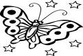 Coloreaza fluturele!