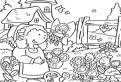 Flori de gradina vesele