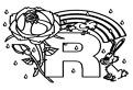 Litera R de colorat