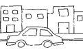 Coloreaza masina in oras