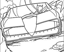 Batman in masina