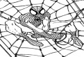 Spider-Man isi face plasa