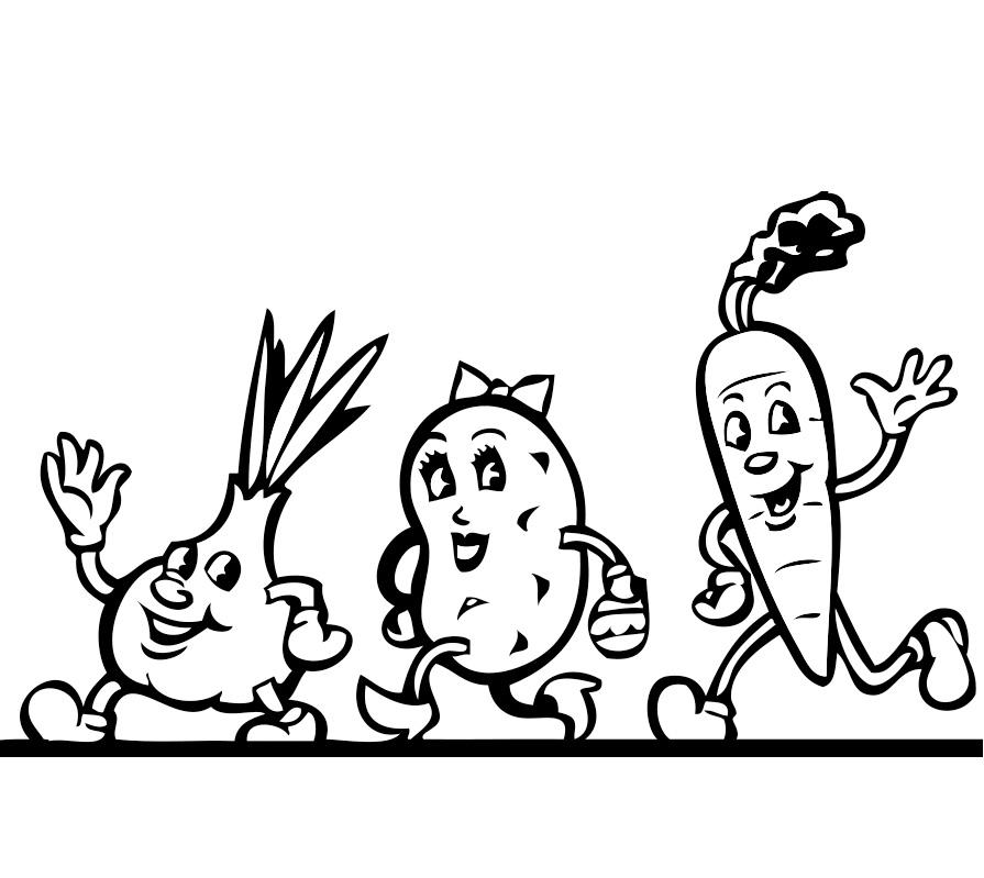 Usturoiul Cartoful Si Morcovul