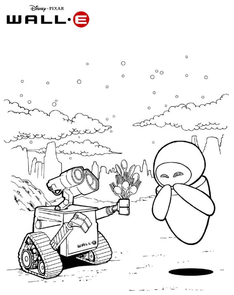 Wall-E si Eve