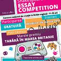 Shakespeare School Essay Competition da startul celei de-a 9-a editii a concursului national de creatie in limba engleza!