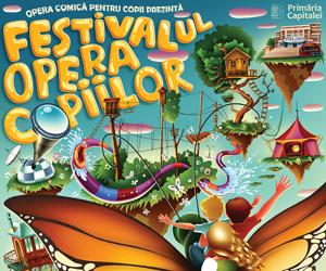 Opera Comica pentru Copii va invita la aventuri magice in Festivalul Opera Copiilor!