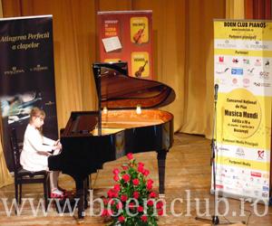 Astazi este ultima zi de inscrieri la Concursul National de Pian