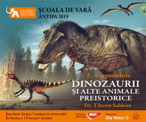 Intalnire cu dinozauri si alte animale preistorice