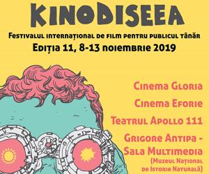 Cele mai bune filme pentru publicul tanar, in premiera la Festivalul International de film KINOdiseea, editia a XI-a