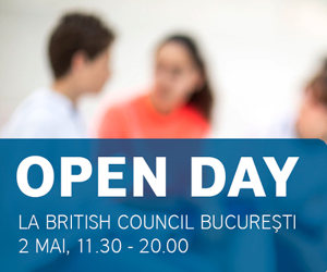 Parinti si copii, invitati sa descopere engleza  in familie la British Council Open Day