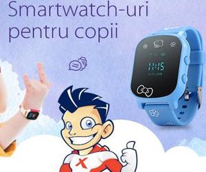 Opt motive sa-i cumperi copilului tau un smartwatch