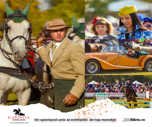Karpatia Horse Show deschide drumul catre Jocurile Olimpice de la Tokyo 2020. Spectacolul unic al echitatiei de top mondial revine pentru a VI-a Editie la Domeniul Cantacuzino de la Floresti