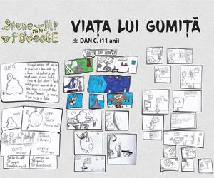 Expozitie de benzi desenate si povesti ilustrate