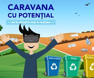 A inceput a doua editie: Caravana cu Potential, primul modul de educatie ecologica in format VR din Romania!
